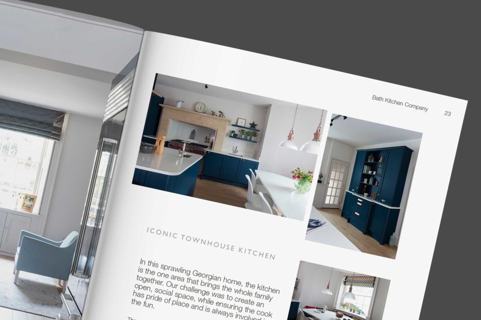 Bath Kitchen Company brochure spreads