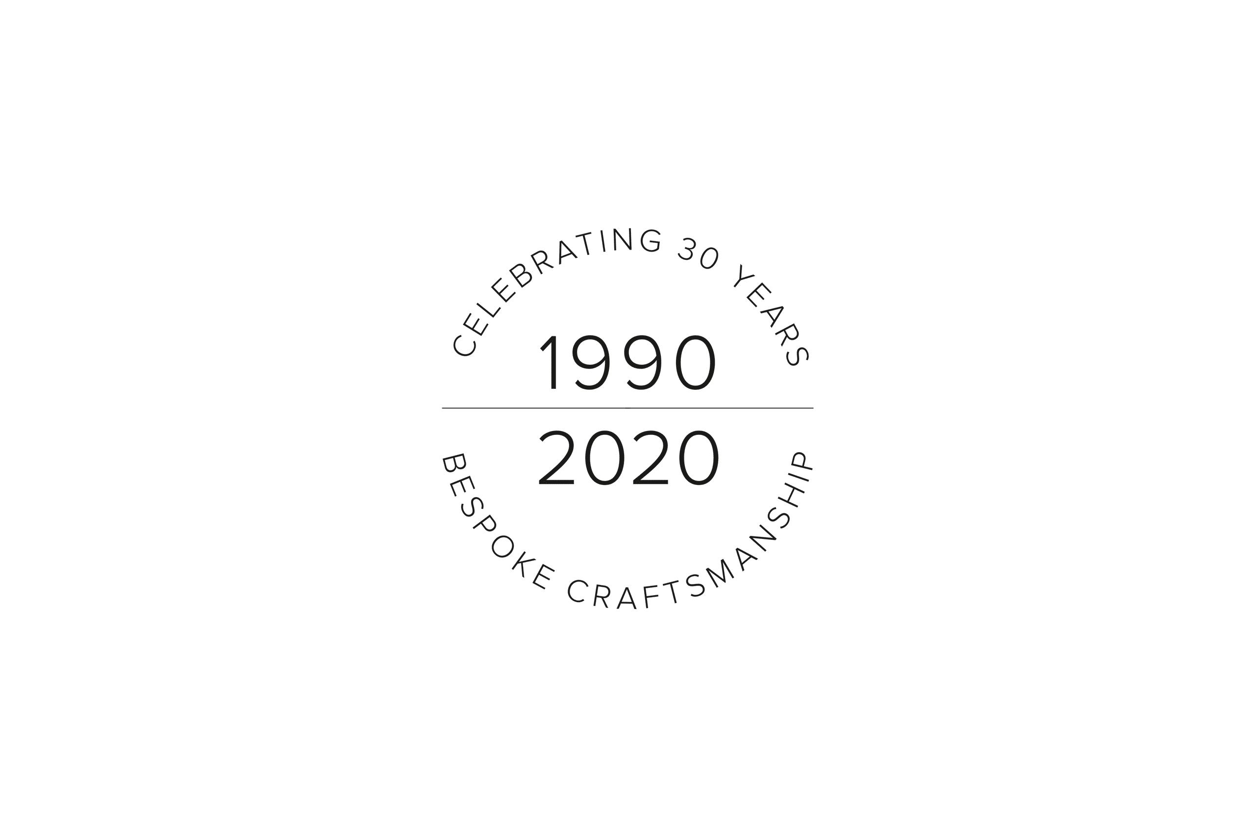 Bath Kitchen Company anniversary logo 2020