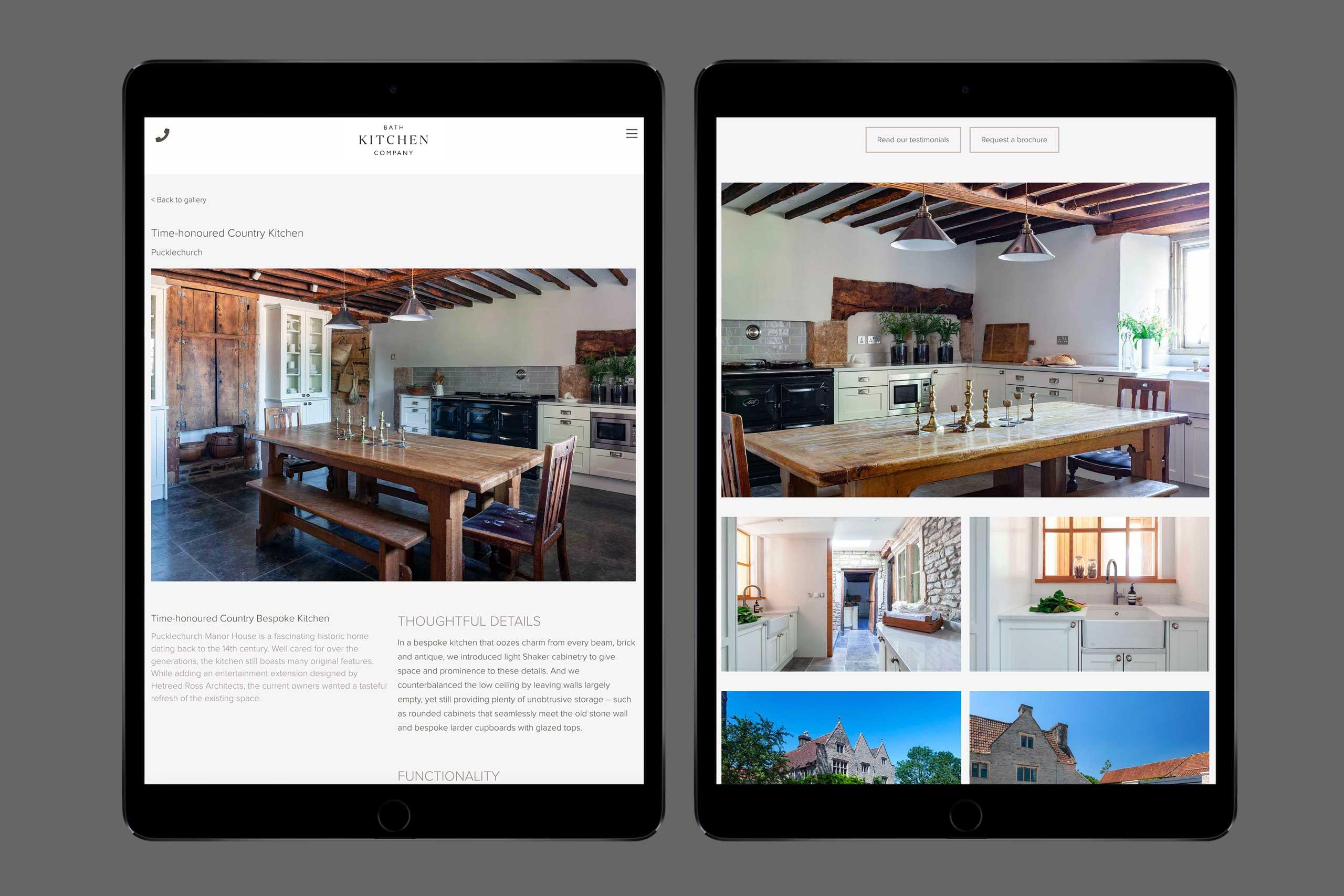 Bath Kitchen digital tablet