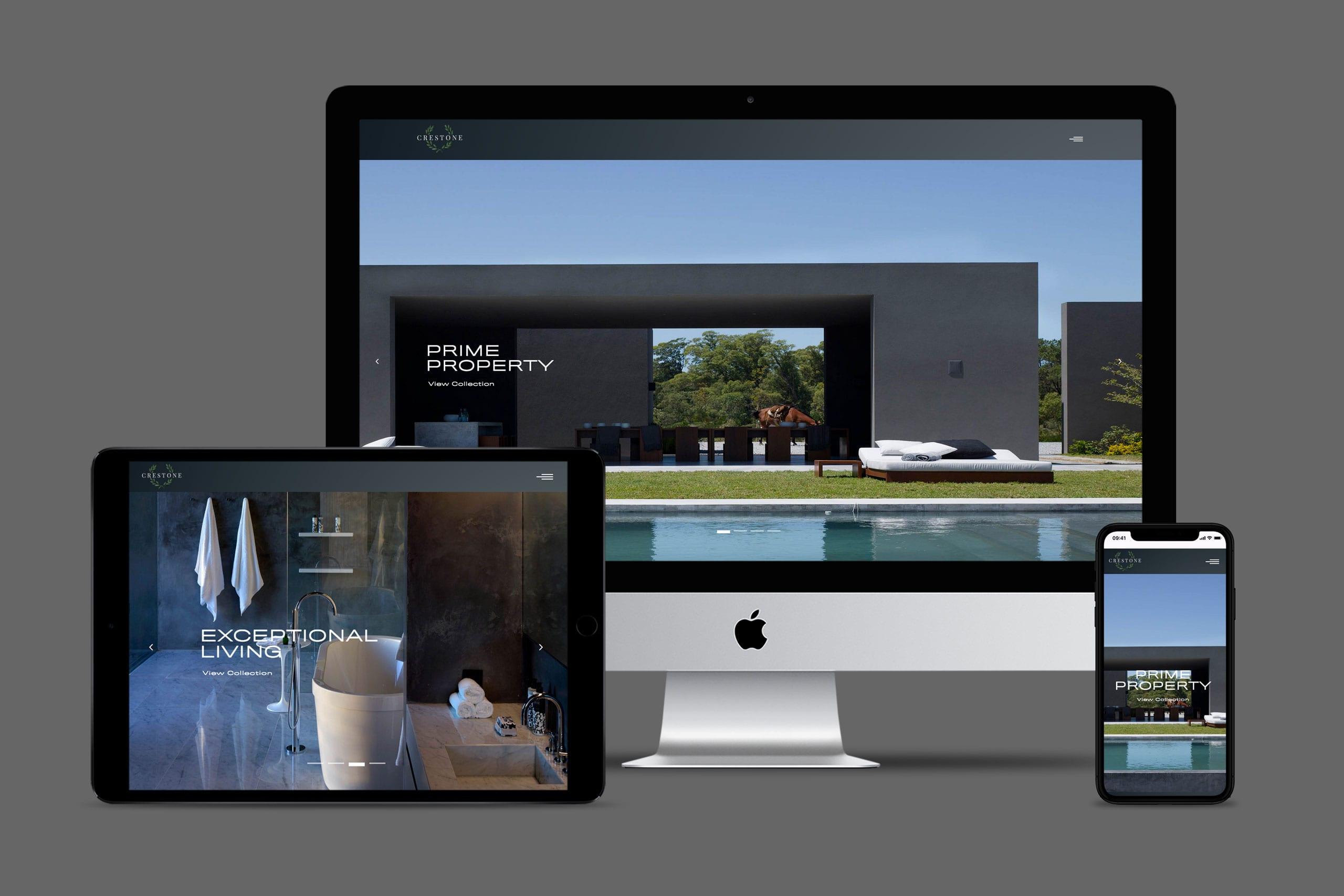 Crestone digital website