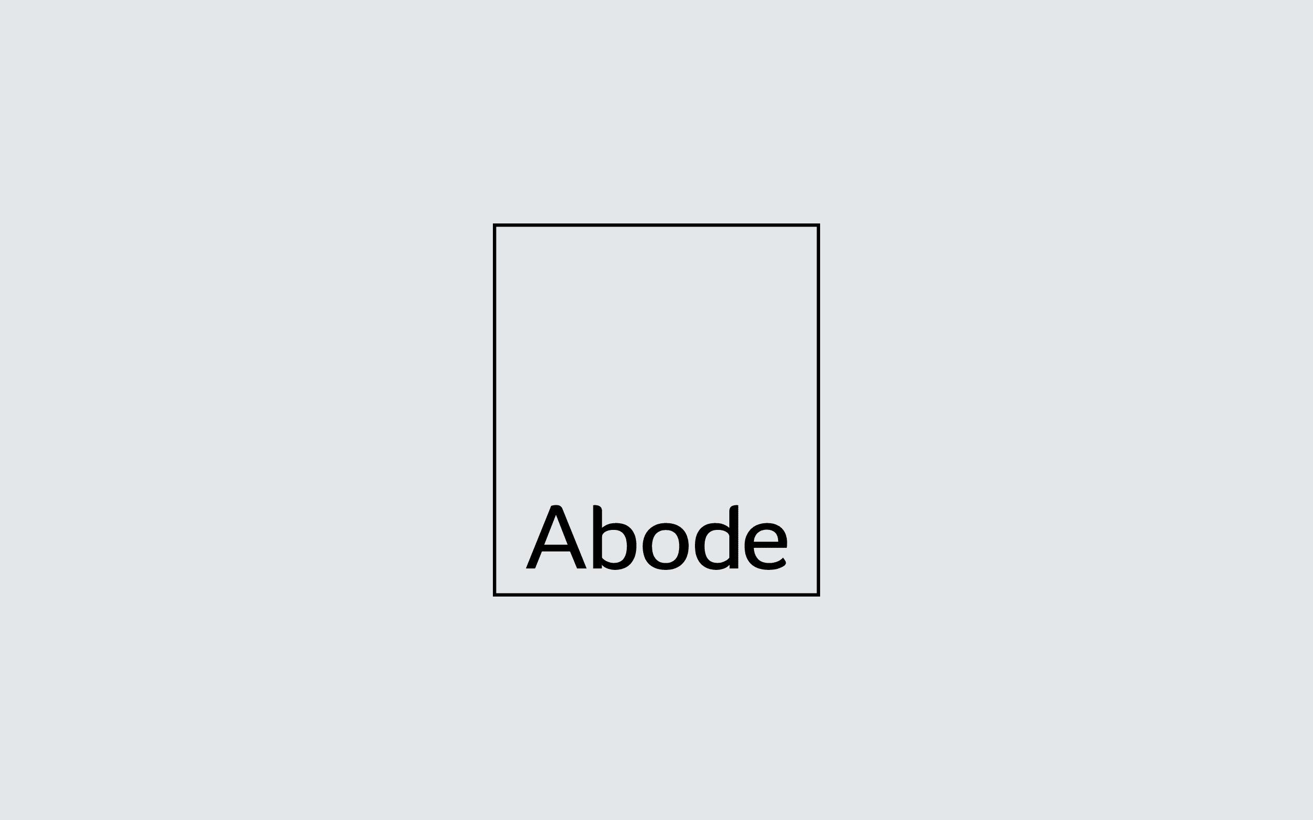 Abode Property Lettings identity | Zeke Creative