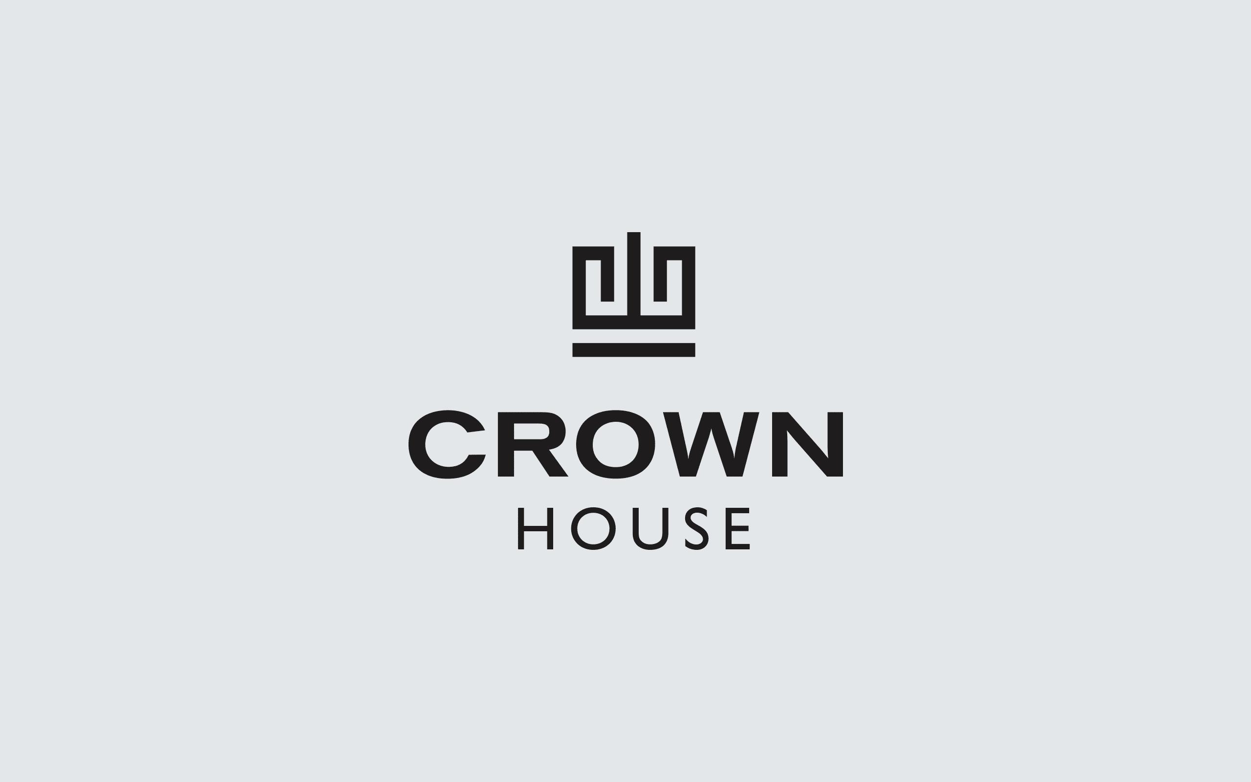 Crown House logo | Zeke Creative