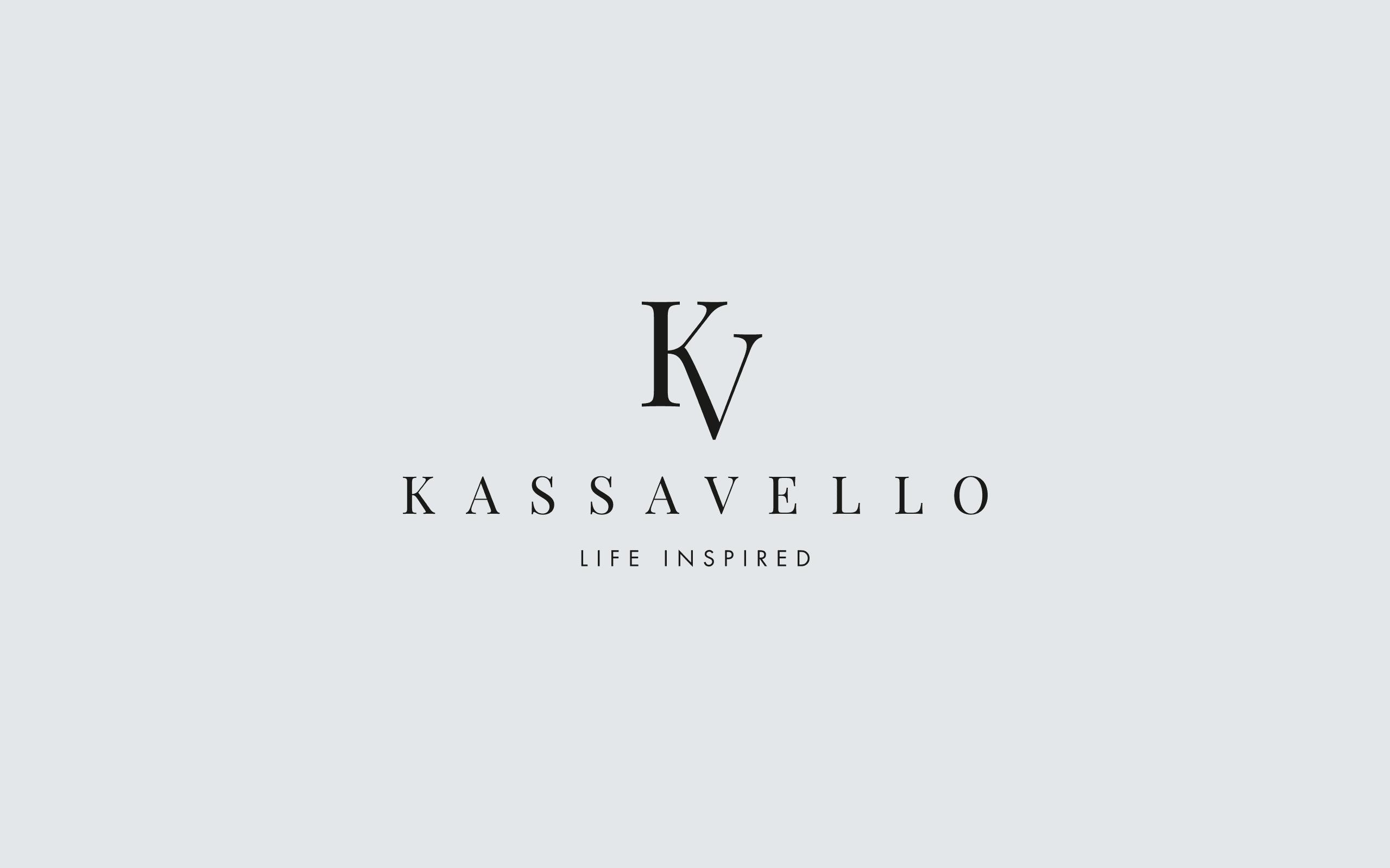 Kassavello logotype and new tagline | Zeke Creative