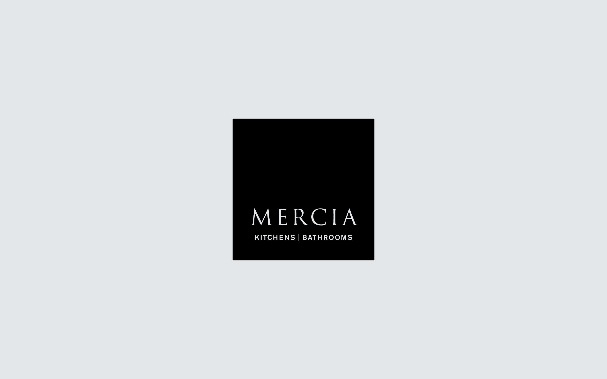 Mercia Kitchens business identity | Zeke Creative