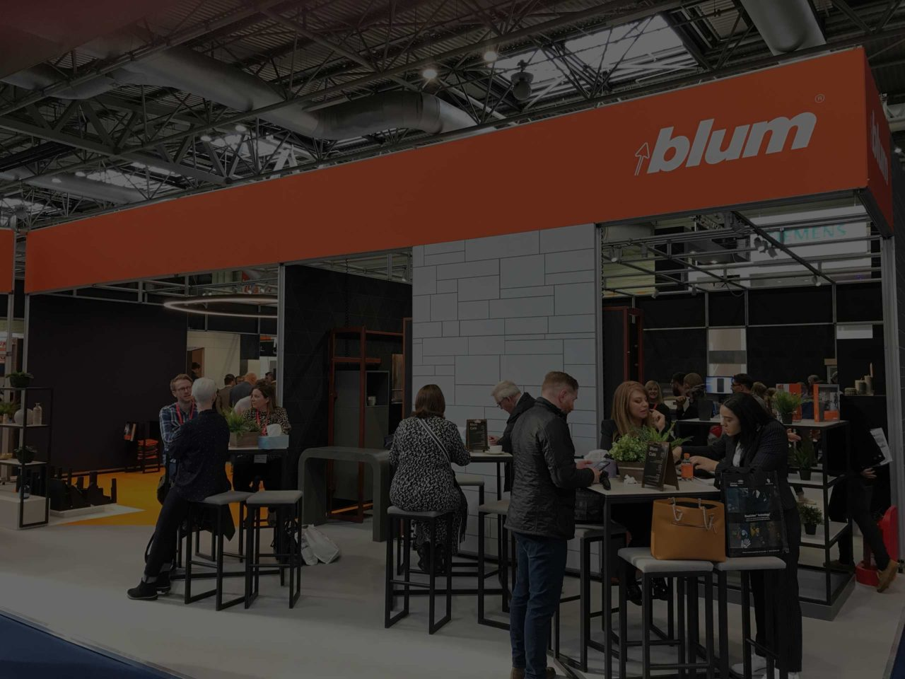 Showstand hero from Blum for Zeke Creative