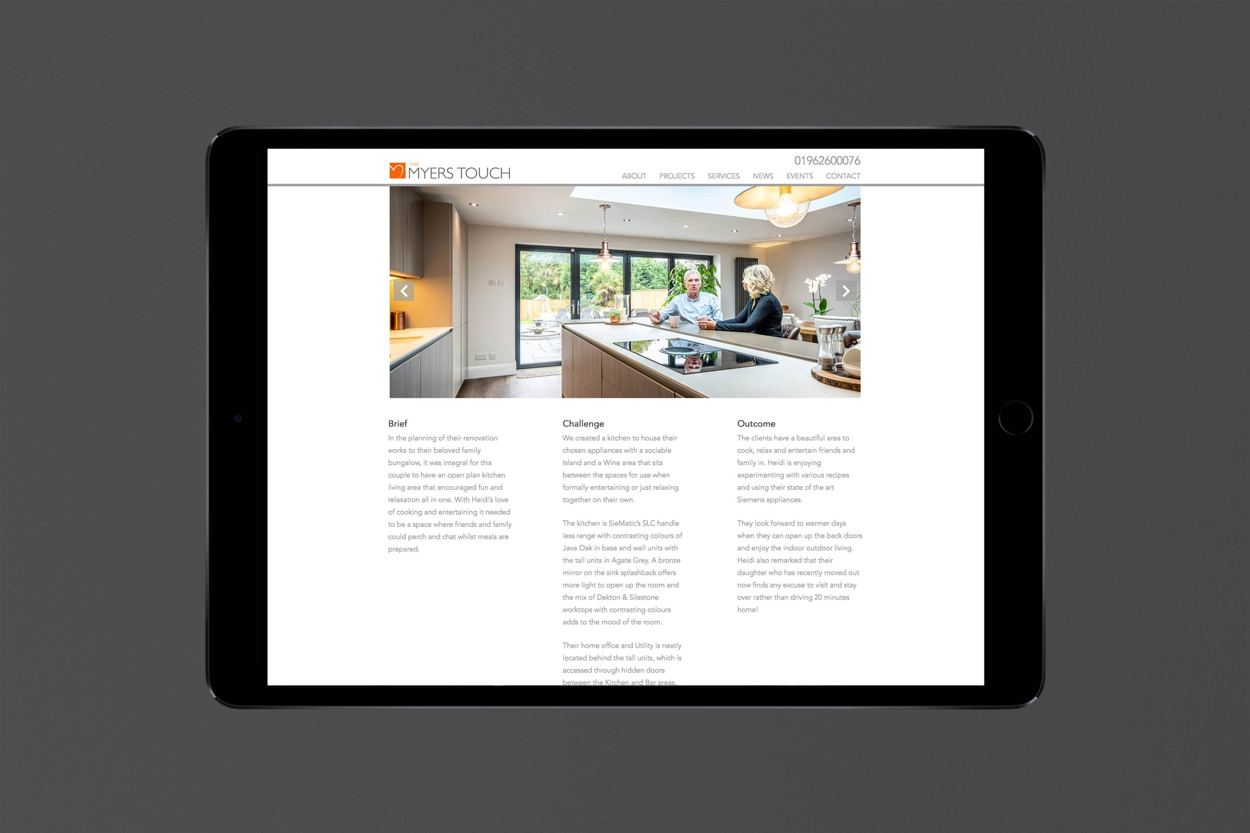 Interior Design case studies | The Myers Touch Case study example