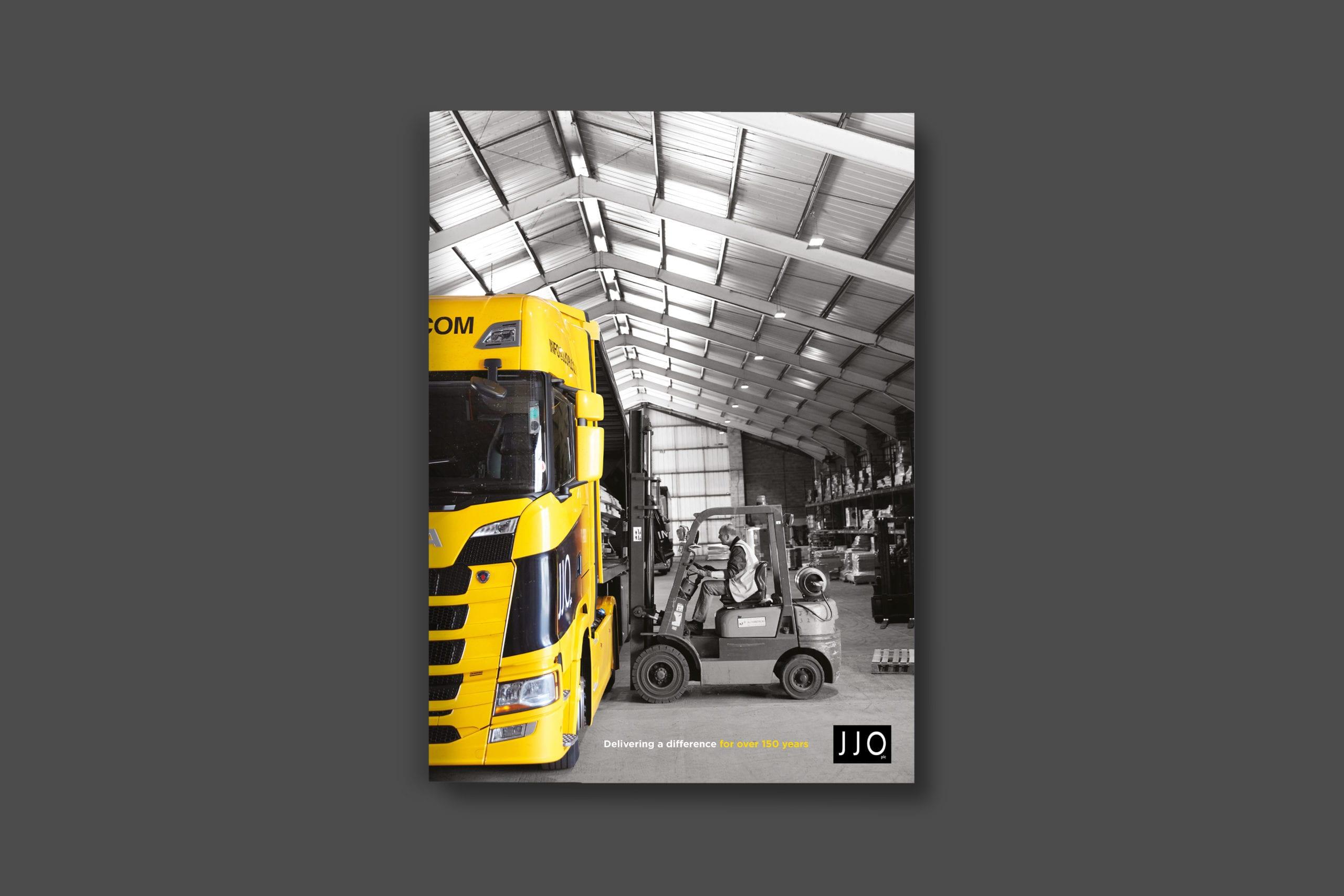 JJO plc Corporate brochure cover