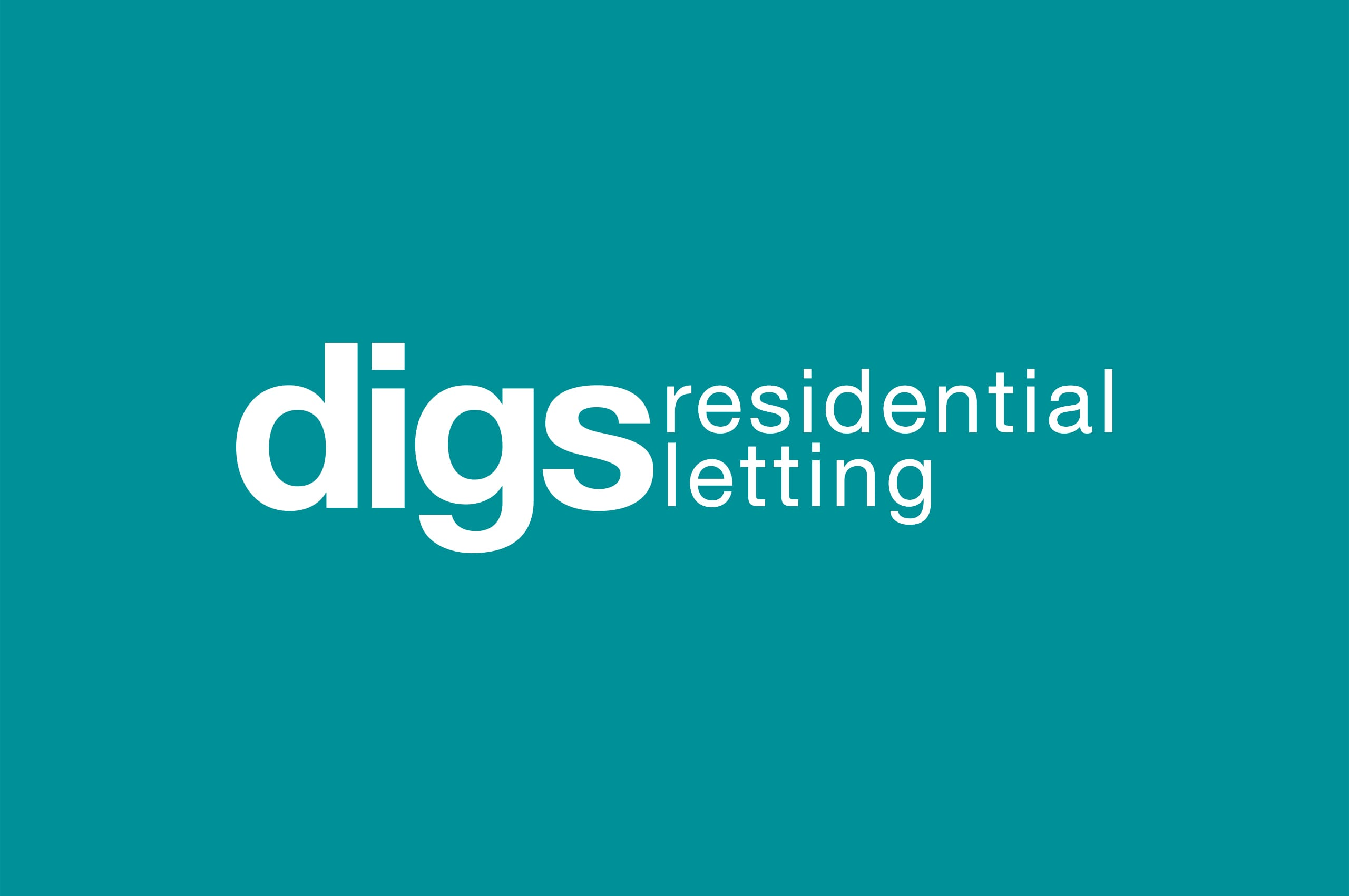 Digs Residential Letting Logo