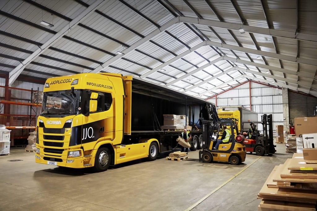 JJO logistics success story