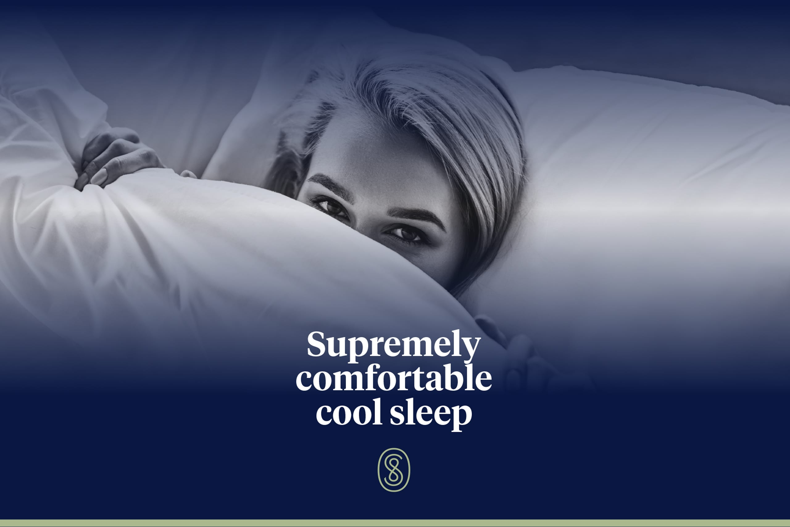 Supremely Comfortable Cool Sleep hero image