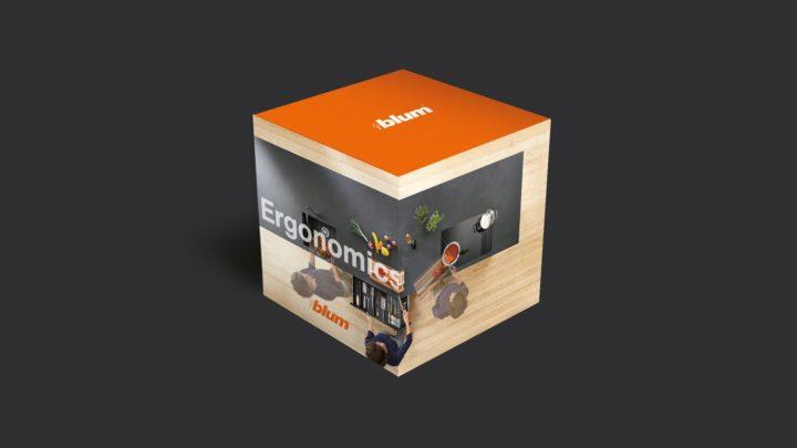 Blum CGI of 3D Point of Sale box 2 | Zeke Creative