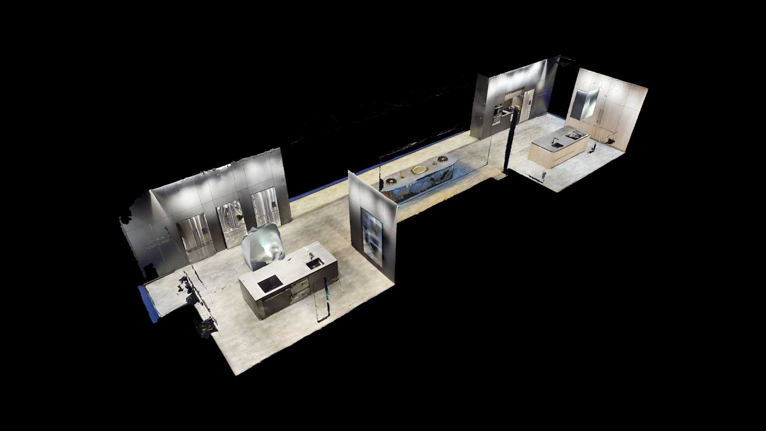 Fisher & Paykel doll house view of KBB exhibition
