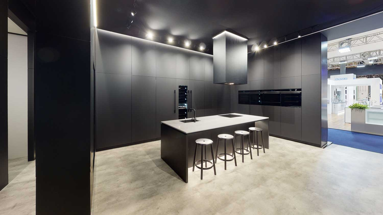 Fisher & Paykel kitchen display at KBB 2020