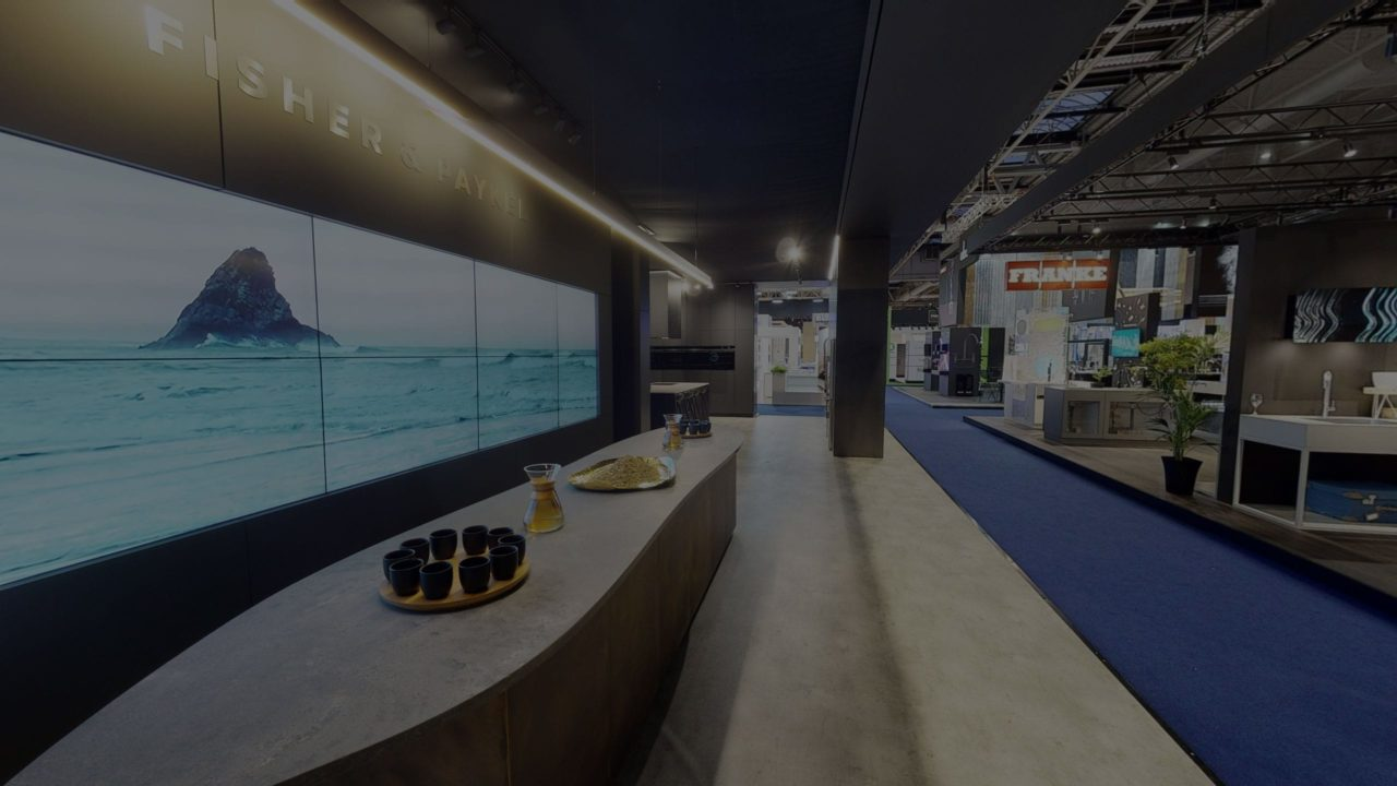 Fisher & Paykel KBB stand