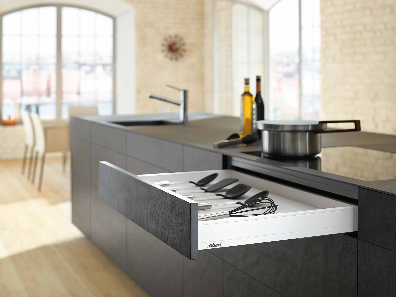 Blum | Kitchen lifestyle image | Zeke Creative