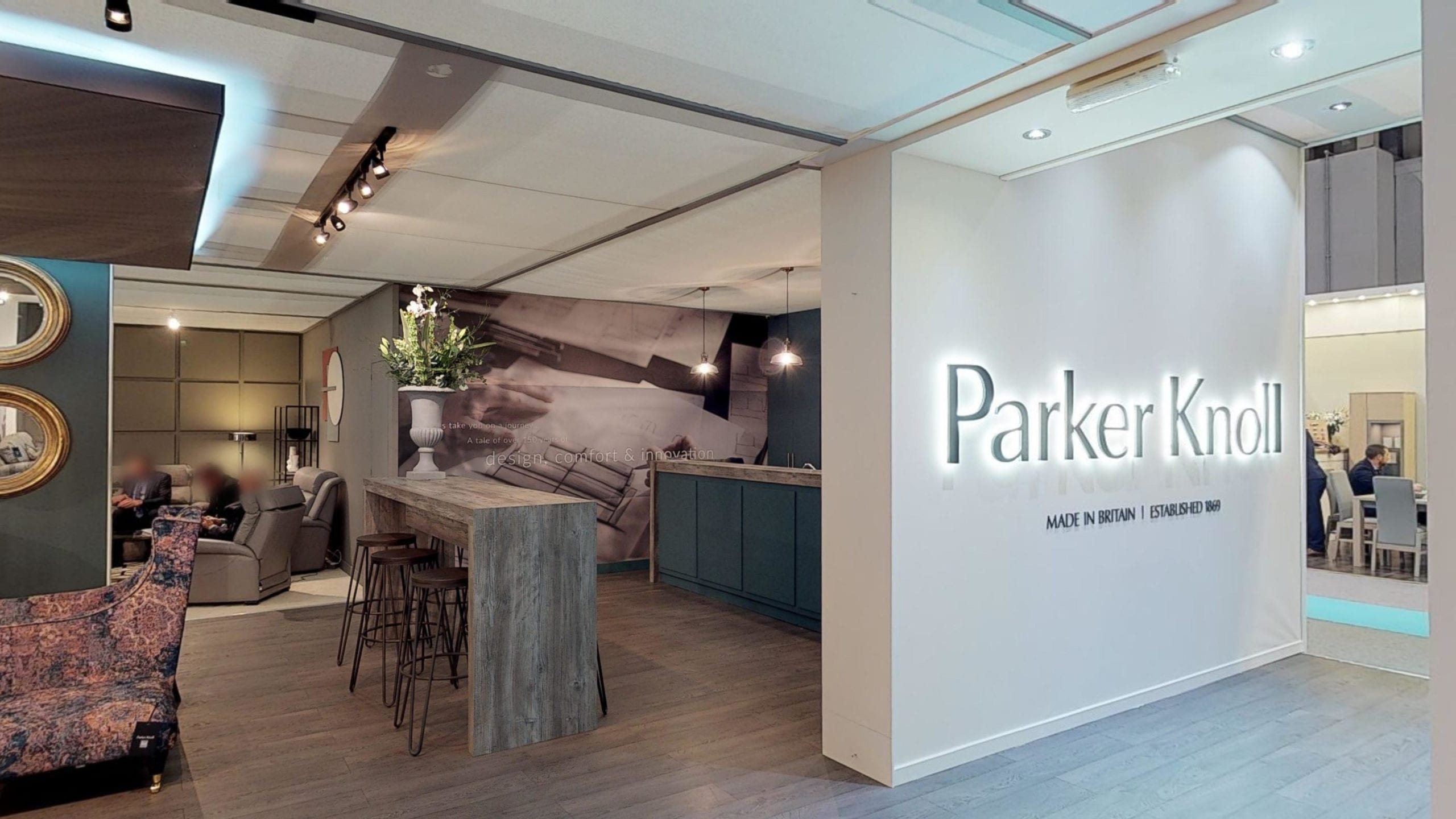 High res image from Parker Knoll exhibition