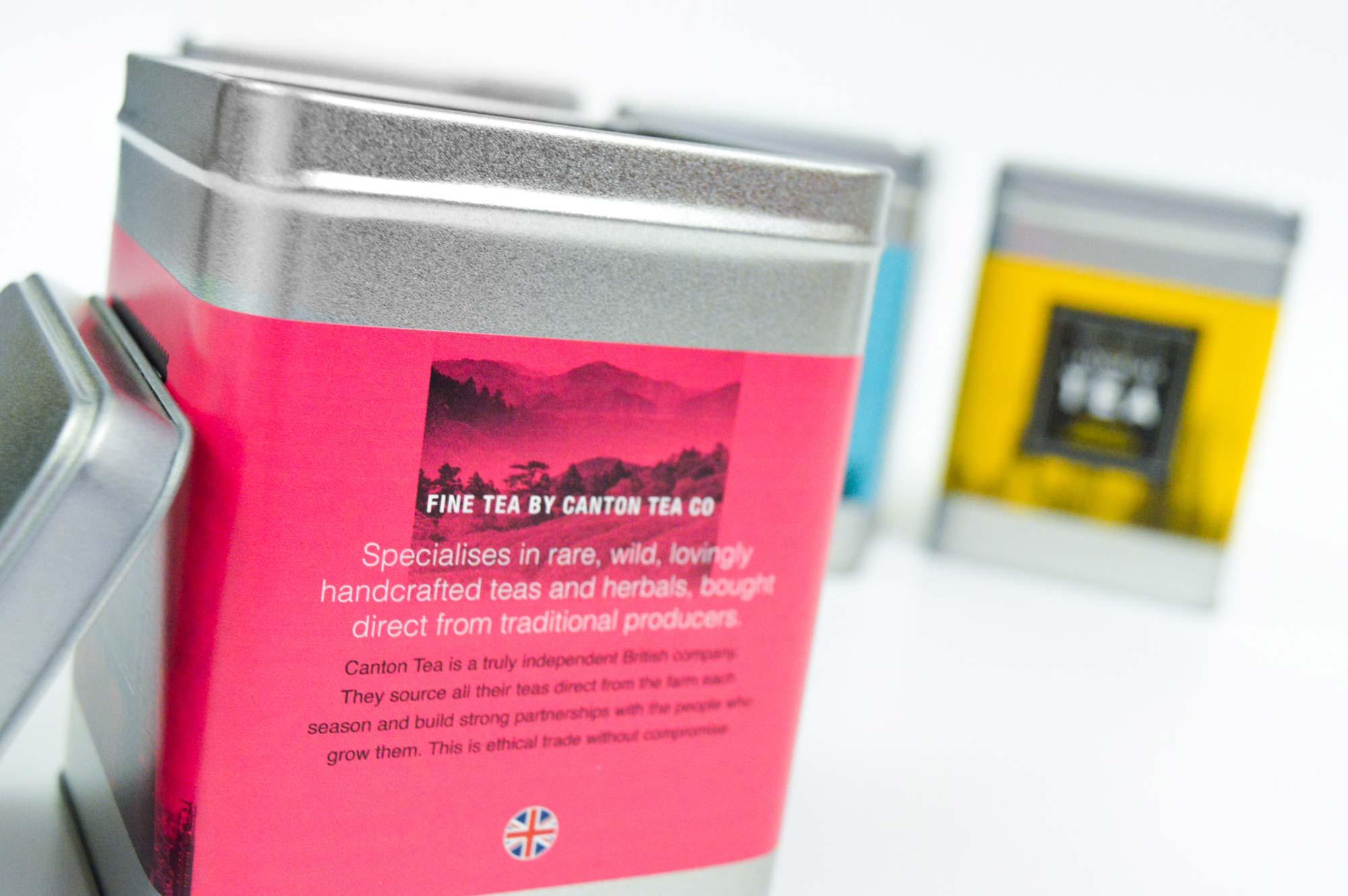 Blum | Space Tower campaign | Tea Packaging close-up | Zeke Creative