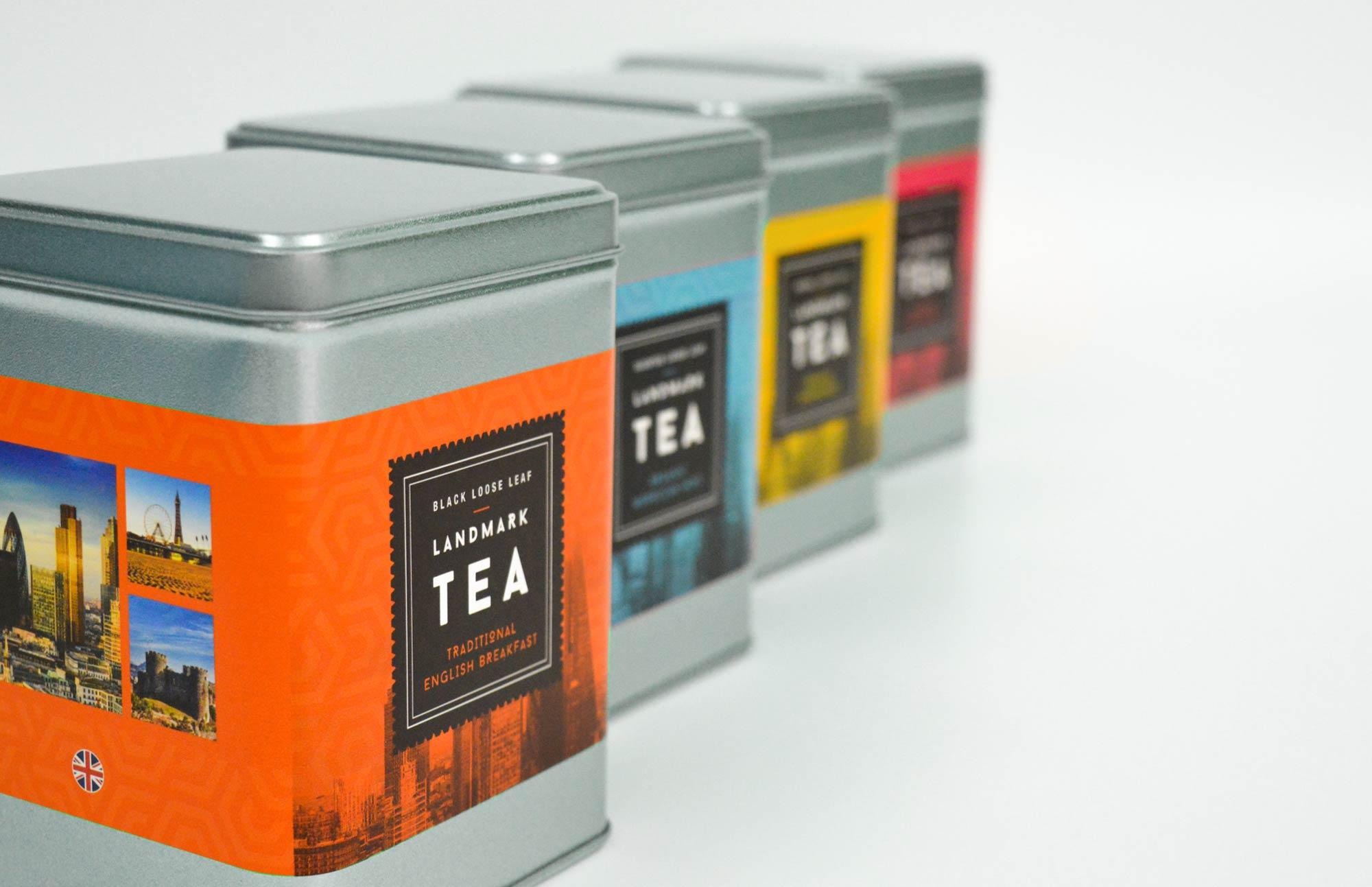 Blum | Full set of the tea packaging for Blum | Zeke Creative