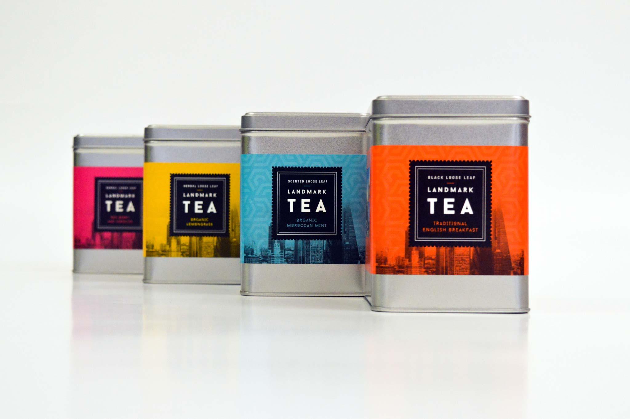 Blum | Space Tower campaign | Tea Packaging set | Zeke Creative